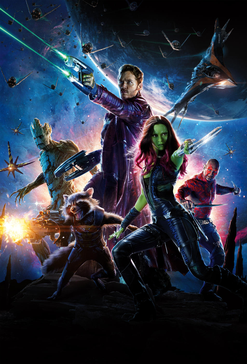 Guardians Of The Galaxy Hd Wallpaper By Alphafuryofthenight On