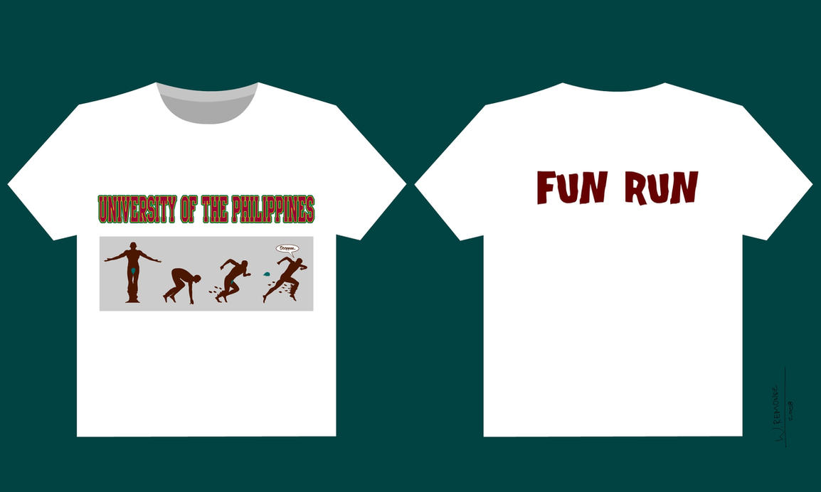 Up Fun Run Shirt Design By Belboy On Deviantart