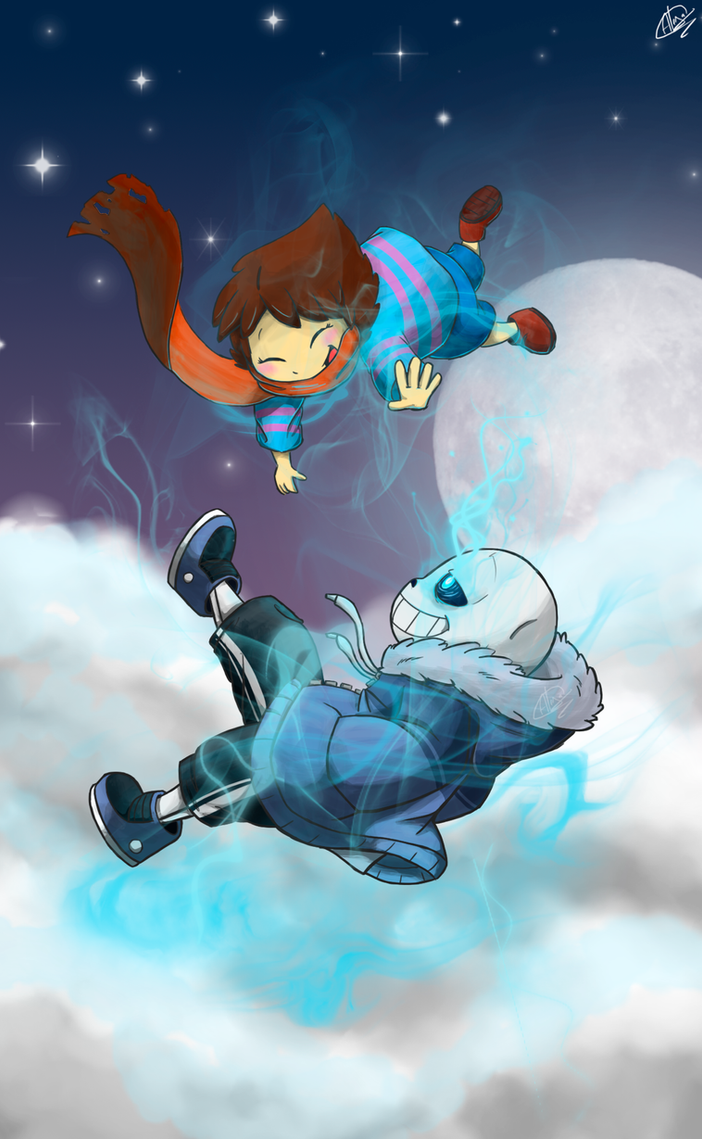 Undertale - Let's Just Have Some Fun by InfiniteTale00