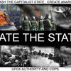 HATE THE STATE by Anarchist-outcontrol