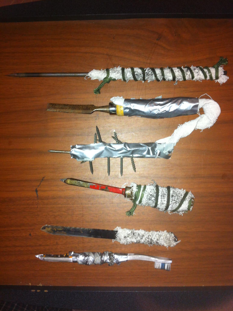Insane Prisoner Inventions: 24 DIY Prison Tools & Weapons ...