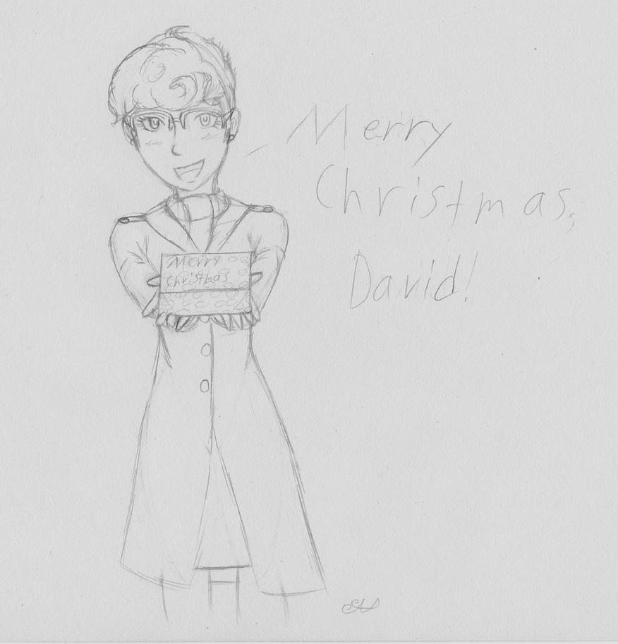 Merry Christmas David 2015 by animalgirl314