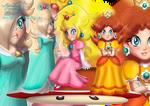 Mario Girls, Peach Daisy and Rosalina