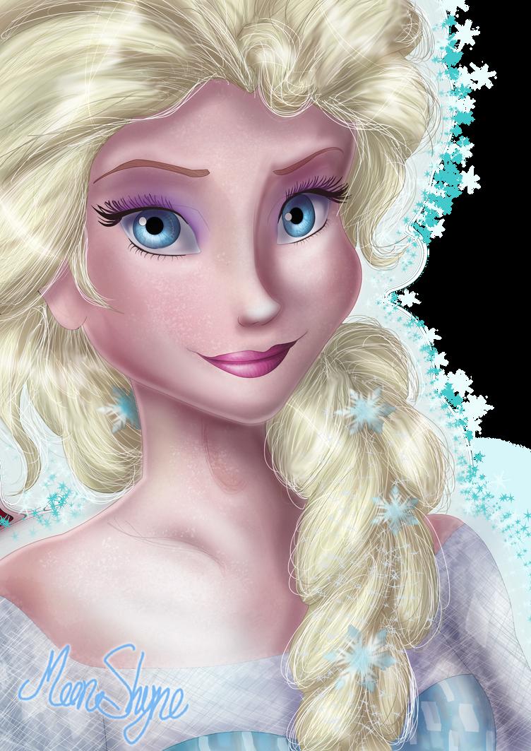Elsa from 'Frozen' by Moon-Shyne