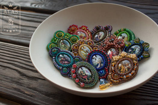 11 fairy brooches