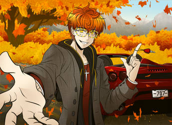 Last Drive of the Season by sakekobomb