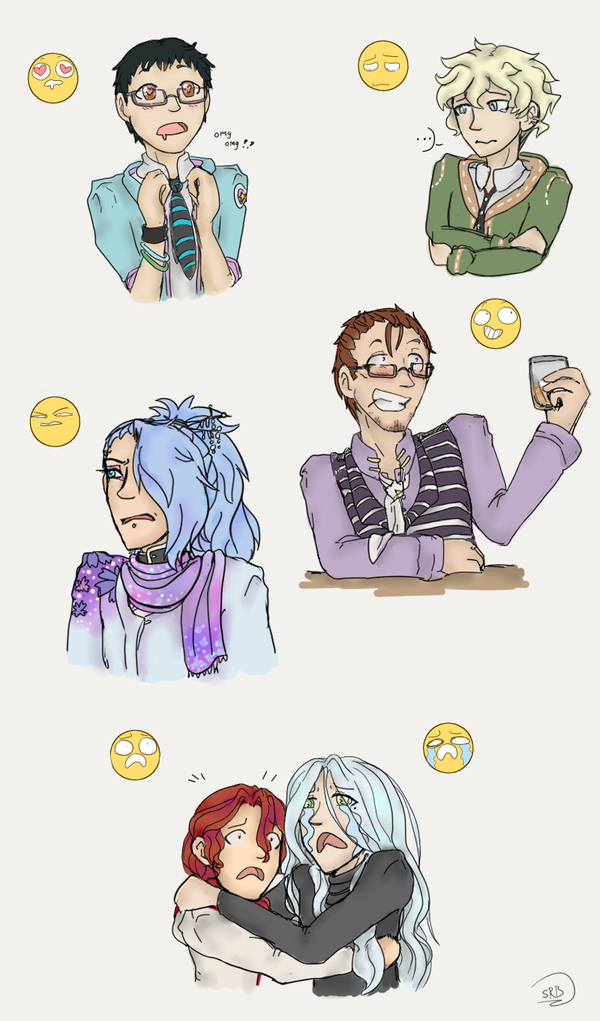 Oc Expression thing by LadyVentuswill