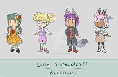 Cutie Adoptables! [ OPEN ]