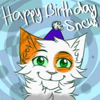 Happy Birthday Snew! by iWolfieChan