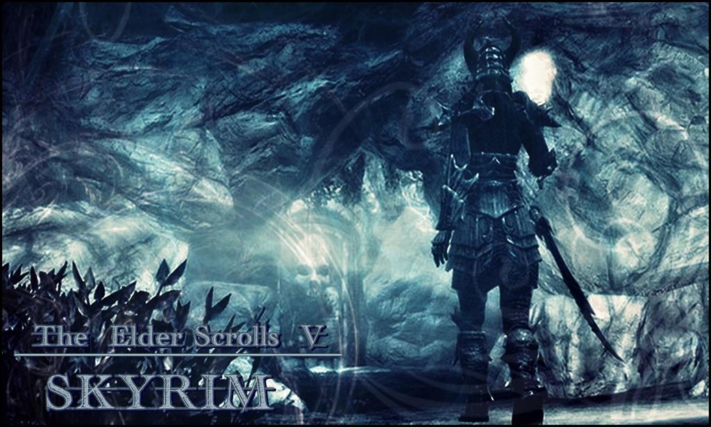 Skyrim - Female Warrior Wallpaper by Lady-Hanashy