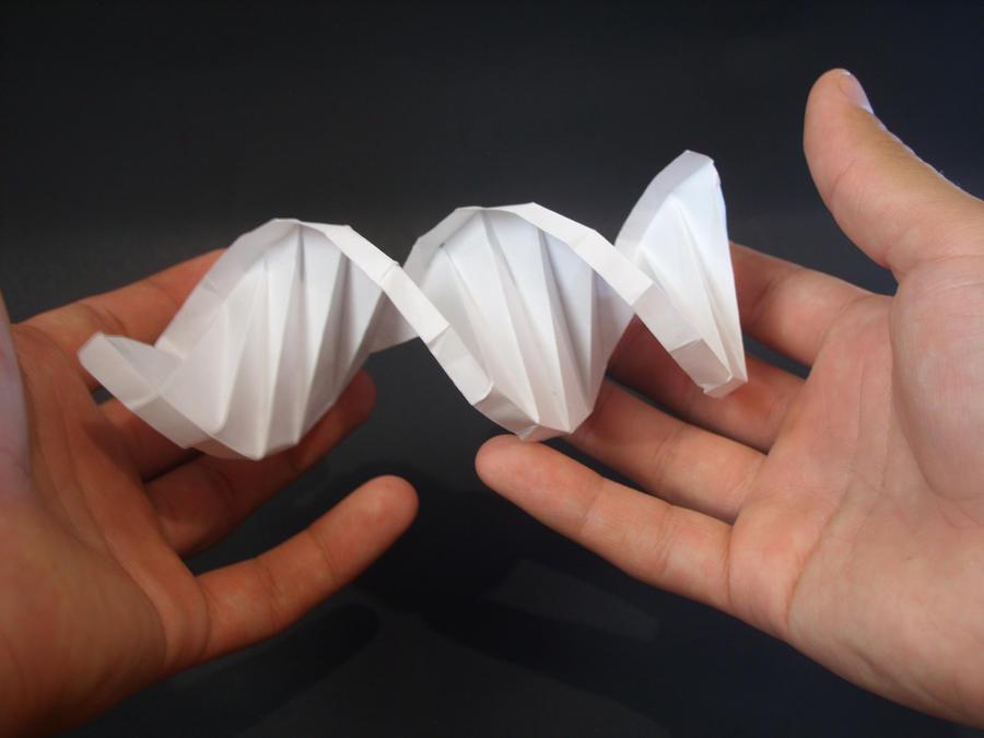 Origami Dna Model | ORIGAMI Maker Easy