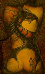 dragon body paint by BfstudiosLLC