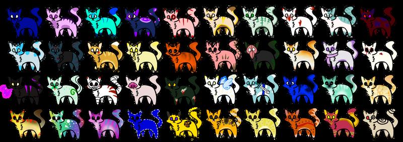 Ten thousand years:: OTA cats