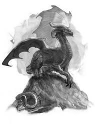 Dragonrawr by Caelicorn