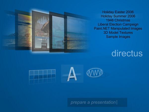 Directus: Desktop