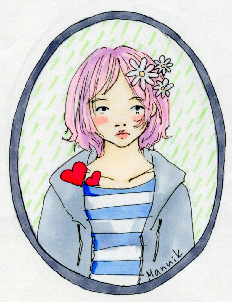 girl_pink by Stich-tyan