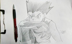 Gon freece by AgentVIKI