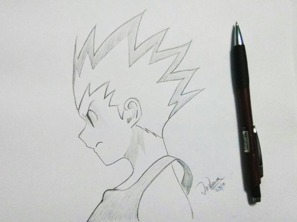 Frustrated Gon by AgentVIKI