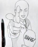 Saitama  by AgentVIKI