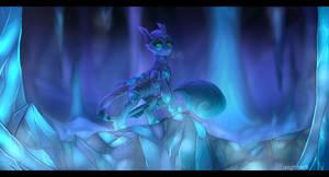 Ice Caves (v2) by nightskrill