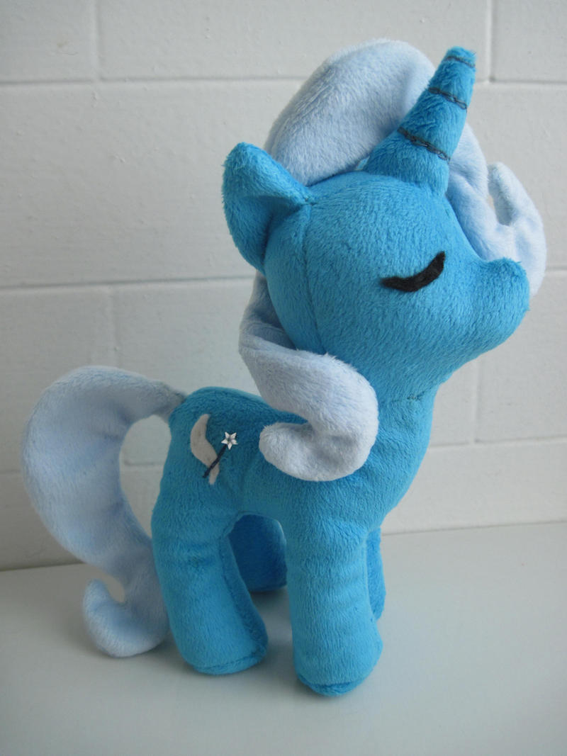 The Great and Powerful Tiny Trixie Plush v2.0 by katiepox