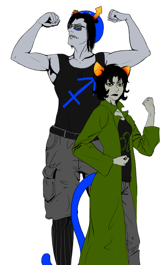 equius and nepeta by katiepox on deviantart