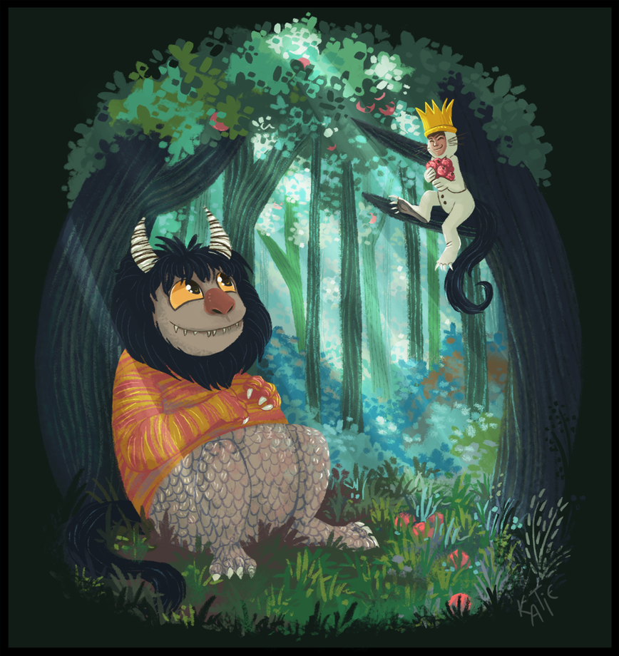 Gift - Where the Wild Things Are by katiepox
