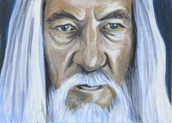 LotR PSC - Gandalf the White by AshleighPopplewell