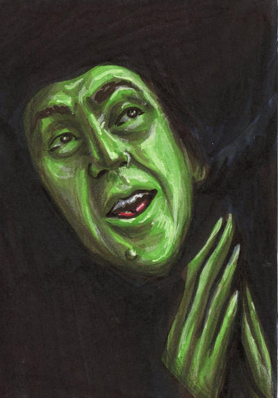 Wicked Witch Drawings Wicked Witch of The West Psc
