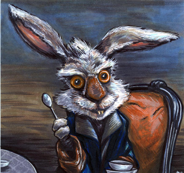 Useful topic March hare interracial artist would