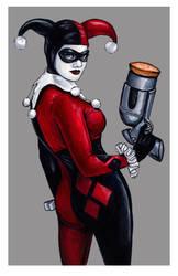 Harley Quinn 11x17 by AshleighPopplewell