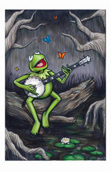 Kermit Rainbow Connection by AshleighPopplewell