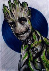 I am Groot by AshleighPopplewell