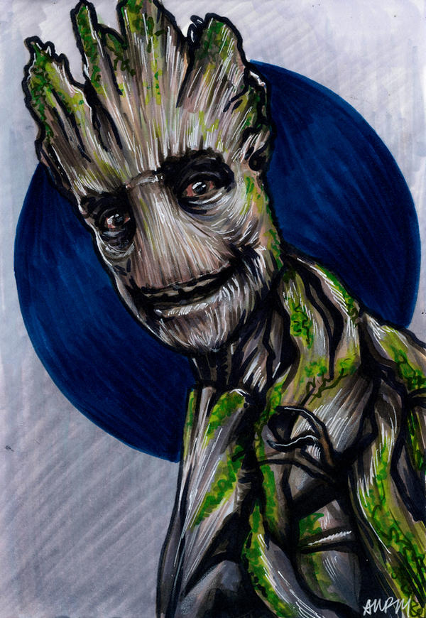 I am Groot by AshleighPopplewell