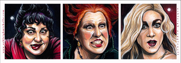 Hocus Pocus Portraits by AshleighPopplewell