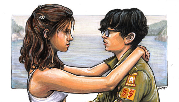 Moonrise Kingdom Young Love by AshleighPopplewell