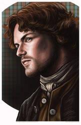 Outlander Jaime Fraser Portrait