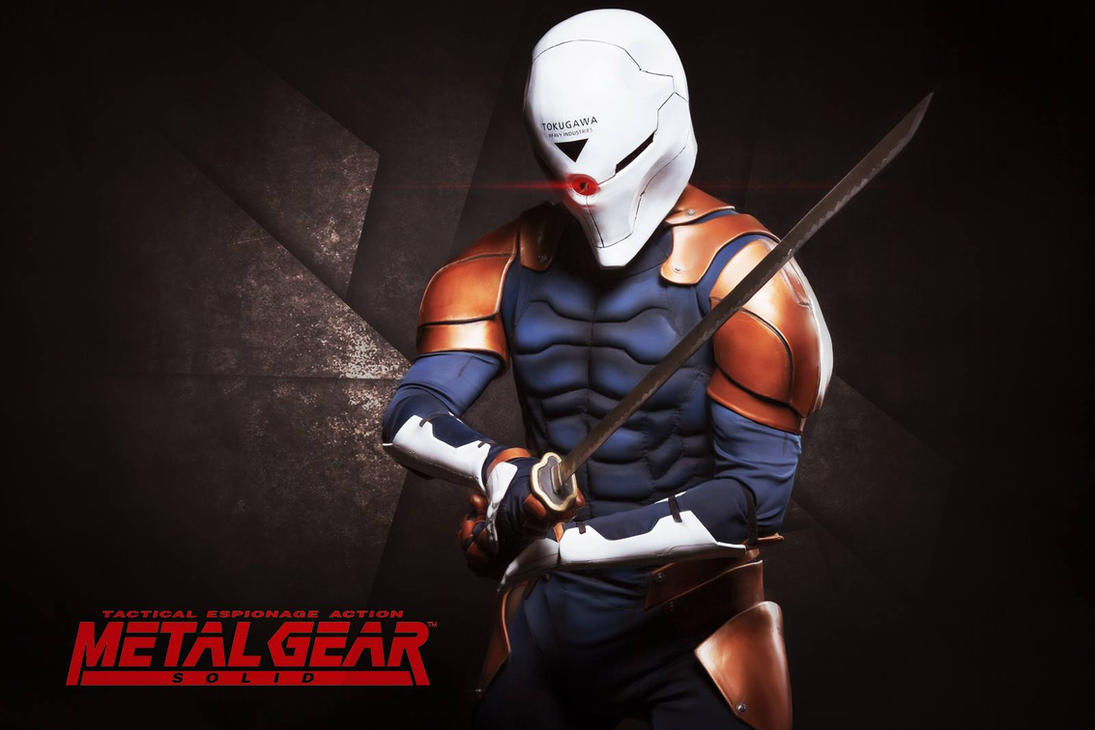 Gray Fox - Metal Gear Solid 1 by IronMask90
