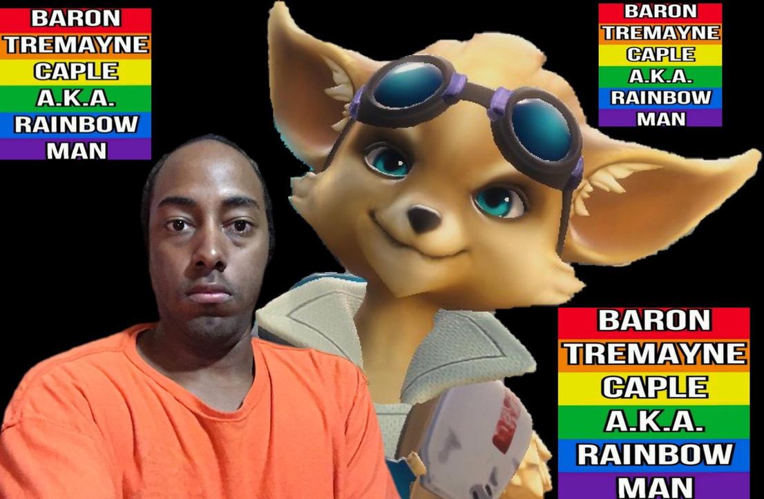 Baron Tremayne Caple A.K.A. Rainbow Man by BaronTremayneCaple