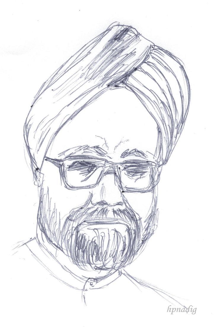 ManMohan Singh by conjurer
