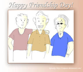 Happy Friendship Day by conjurer