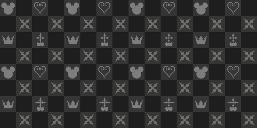 Kingdom Hearts Pattern by bebenciukas