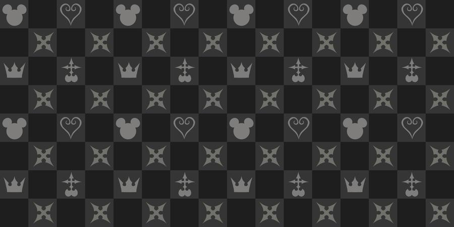 Kingdom Hearts Pattern By Bebenciukas On Deviantart