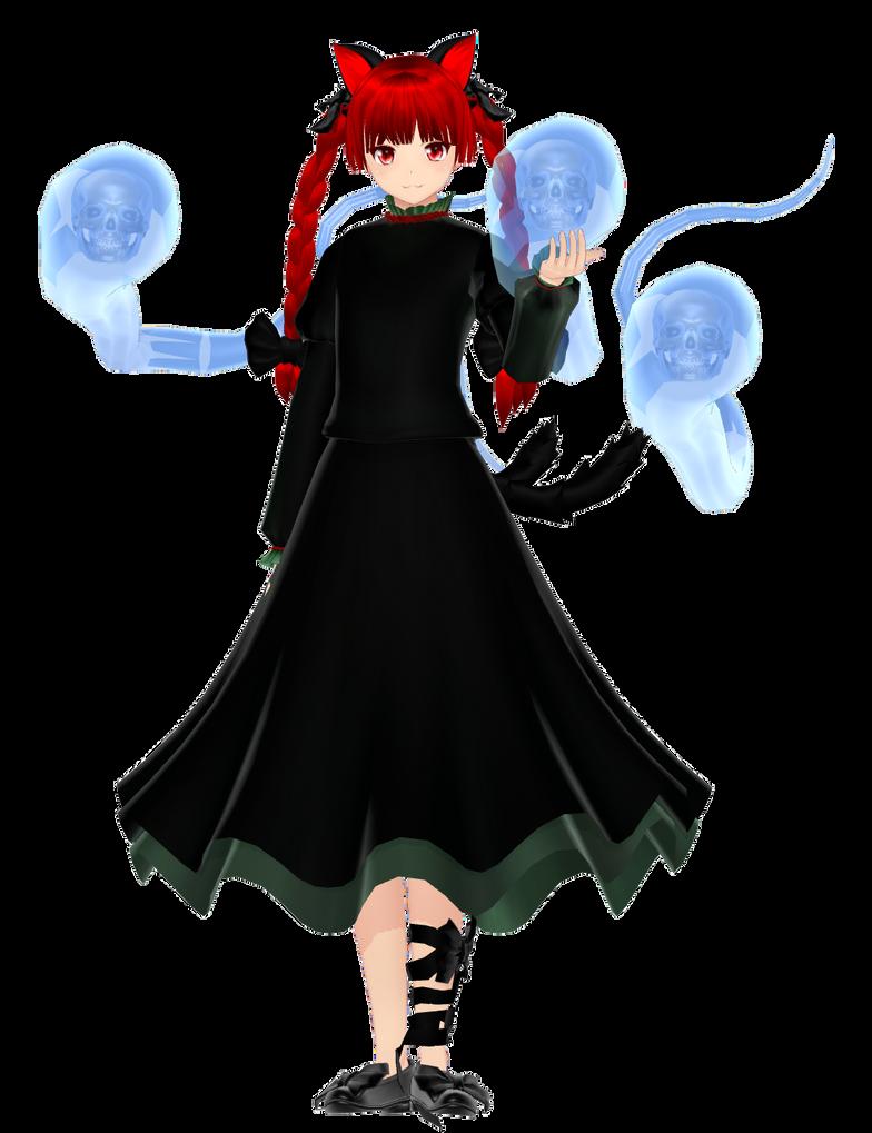 Touhou: Rin Kaenbyou - DL by MattRas