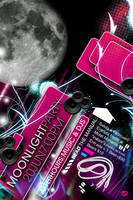 moonlight party flyer by davidzamoradesign