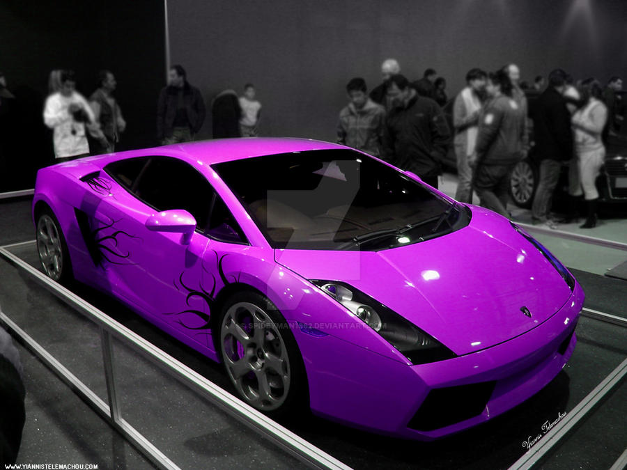 Lamborghini Gallardo Pink By Spideyman1962 On Deviantart