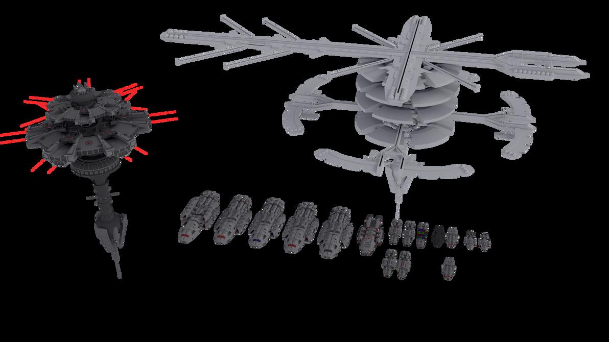 Battlestar Galactica Universe by NepsterCZ