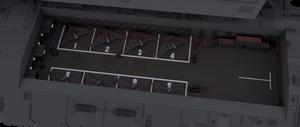 304-class battlecruiser's starboard hangar