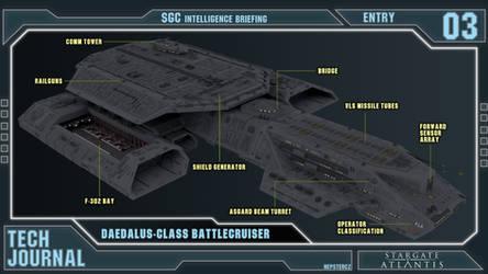 Tech Journal 03 - Daedalus-class [CANON] by NepsterCZ