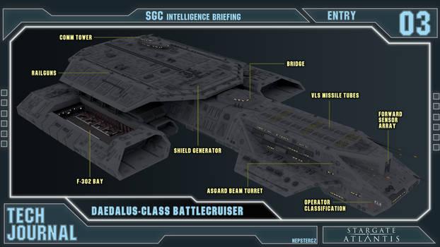 Tech Journal 03 - Daedalus-class [CANON]
